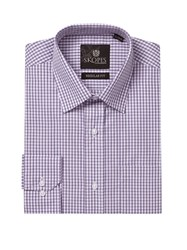 Skopes Easy Care Formal Shirts Lilac