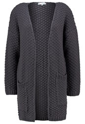 Evenandodd Cardigan Dark Grey