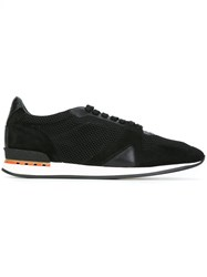 Burberry Mesh Panel Sneakers Black