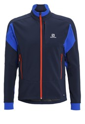 Salomon Momemtum Sports Jacket Big Bluex Blue Yonder