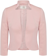 Cc Petite Notch Collar Jacket Pink