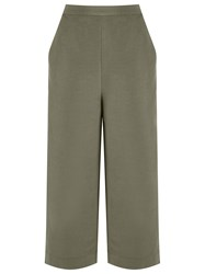 Andrea Marques High Waisted Culottes Green