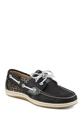 Sperry Koi Fish Core Black Boat Shoe