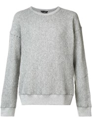 Wings Horns Thermal Jumper Grey