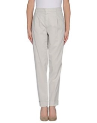Pt0w Casual Pants Light Grey