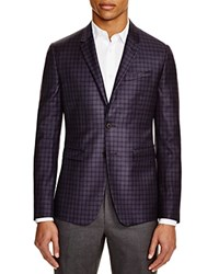 Paul Smith London Box Plaid Slim Fit Sport Coat