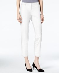 Bar Iii Cropped Skinny Trousers Only At Macy's Washed White