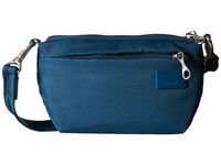 Pacsafe Citysafe Cs25 Crossbody Hip Purse Teal Cross Body Handbags Blue