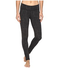Prana Ashley Leggings Black Geo Women's Casual Pants