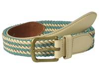 Scotch And Soda Multicolor Leather Braided Belt Blue Men's Belts