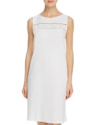 Hanro Franca Tank Gown Off White