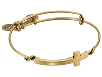 Alex And Ani Cross Wrap Rafaelian Gold Finish Bracelet