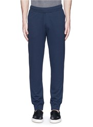 Armani Collezioni Slim Fit Jogging Pants Blue