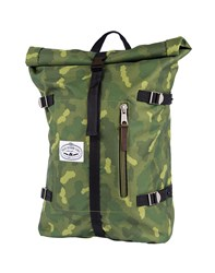 Poler Retro Rolltop Bag Green