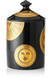 Fornasetti Sun And Moon Scented Candle Black