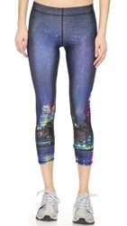Zara Terez Nyc Nights Capri Leggings Multi