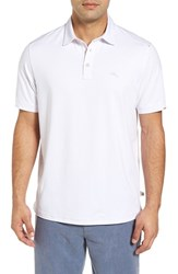Tommy Bahama Men's Big And Tall Tropicool Spectator Polo White