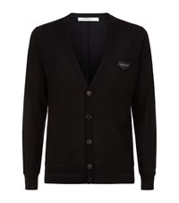 Givenchy Logo Patch Cardigan Male