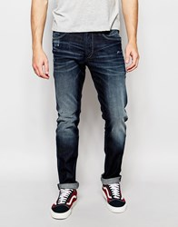 Jack And Jones Jack And Jones Wahed Jeans In Slim Fit Blue