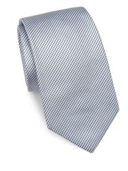 Theory Coupe Cloncurry Silk Tie Grey