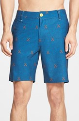 Men's Sperry 'Big Oar Deal' Hybrid Print Shorts
