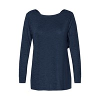 Soaked In Luxury Stretch Jersey Top Blue