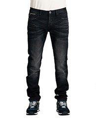 Cult Of Individuality Greaser Straight Infe Wash Jeans Black