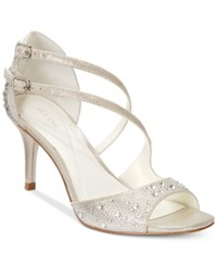 Alfani Women's Cremena Asymmetrical Evening Sandals Only At Macy's Women's Shoes