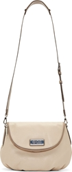 Marc By Marc Jacobs Nude Beige Grained Leather Natasha Satchel