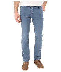 7 For All Mankind Luxe Performance Slimmy Slim Straight In Twill Colors Slate Men's Casual Pants Metallic