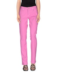 Ralph Lauren Black Label Denim Denim Trousers Women Light Purple