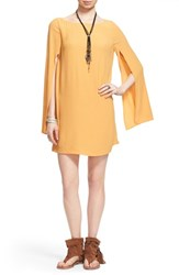 Women's Free People 'Some Like It Hot' Minidress Sun Yellow