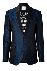 Each Other Brocade Blazer