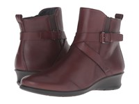 Ecco Felicia Ankle Buckle Mink Cow Leather Women's Boots Brown