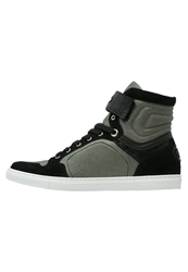 Michalsky Urban Nomad Basketball Hightop Trainers Thyme Grey