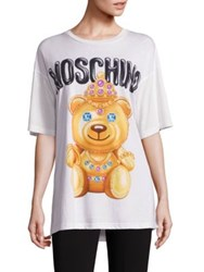Moschino Relaxed Bear Tee White