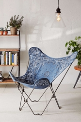 4040 Locust Riggins Butterfly Chair Cover Blue