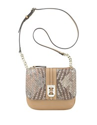 Nine West Gleam Team Aimsey Crossbody Bag Camel Grey