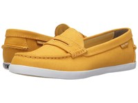 Cole Haan Pinch Weekender Mineral Yellow Canvas Women's Slip On Shoes