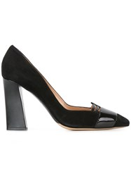 Armani Collezioni Pointed Toe Pumps Black