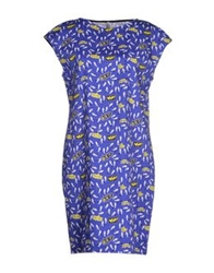 Aimo Richly Short Dresses Blue