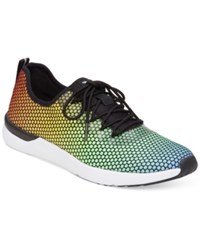 Jessica Simpson The Warm Up Farahh Printed Sneakers Women's Shoes Rainbow