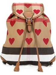 Burberry Medium 'Chiltern' Backpack Multicolour