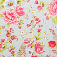 Pip Studio Flowers In The Mix Wallpaper 313051 Light Blue