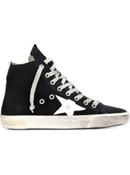 Golden Goose Deluxe Brand 'Francy' Hi Top Sneakers Blue