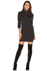 Equipment Willy Mini Sweater Dress Charcoal