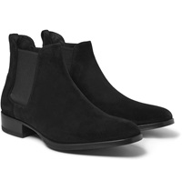 Tom Ford Cuban Heel Suede Chelsea Boots