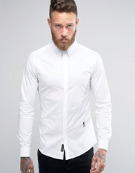 Religion Smart Shirt With Stretch White