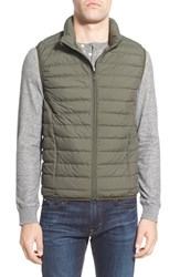 Nordstrom Men's Men's Shop Packable Quilted Down Vest Green Forest