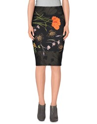 1 One Skirts Knee Length Skirts Women Black